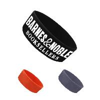 1 Inch Ink Injected Debossed Silicone Wristband - 1 Inch Ink Injected Debossed Silicone Wristband