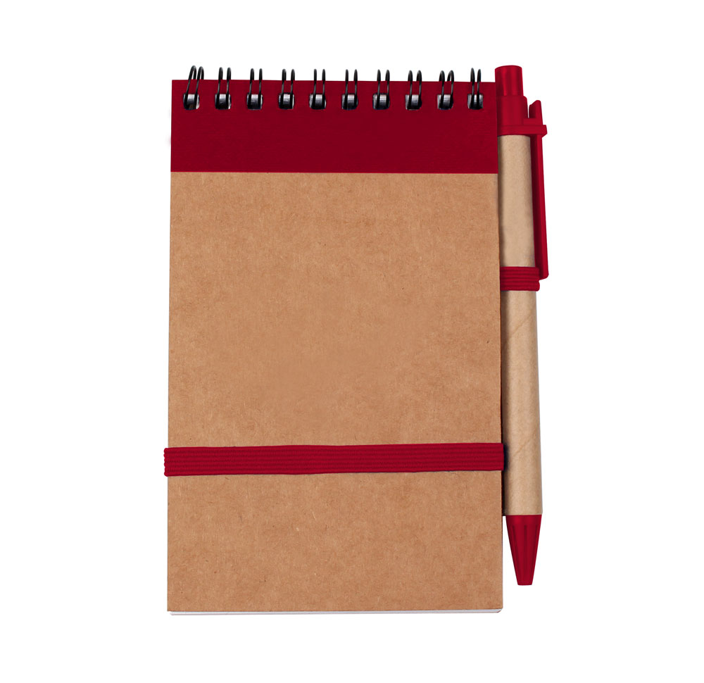 Eco Jotter Recycled Notebook with Pen - Eco Jotter Recycled Notebook with Pen
