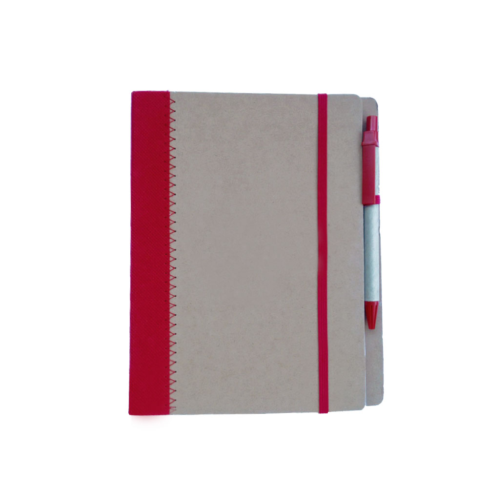 Eco A5 Spiral Jotter with Pen - Eco A5 Spiral Jotter with Pen
