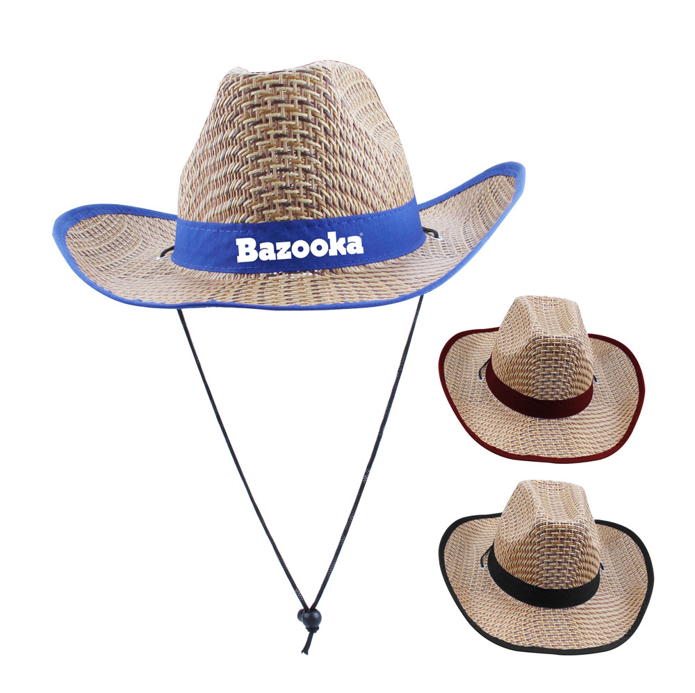New Shape Cowboy Adult Hats- Imprintable Bands Available - New Shape Cowboy Adult Hats- Imprintable Bands Available