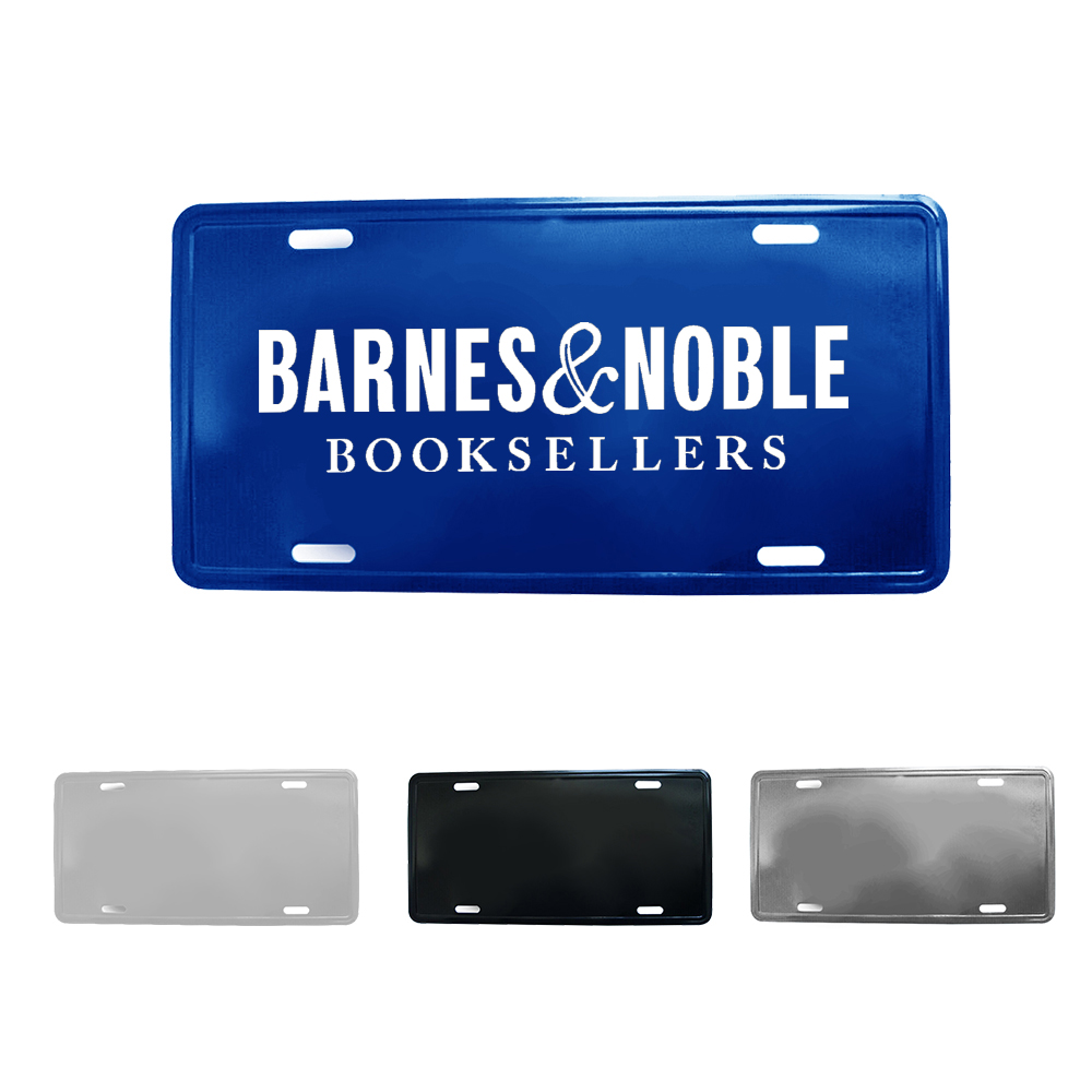 Custom Aluminum License Plate