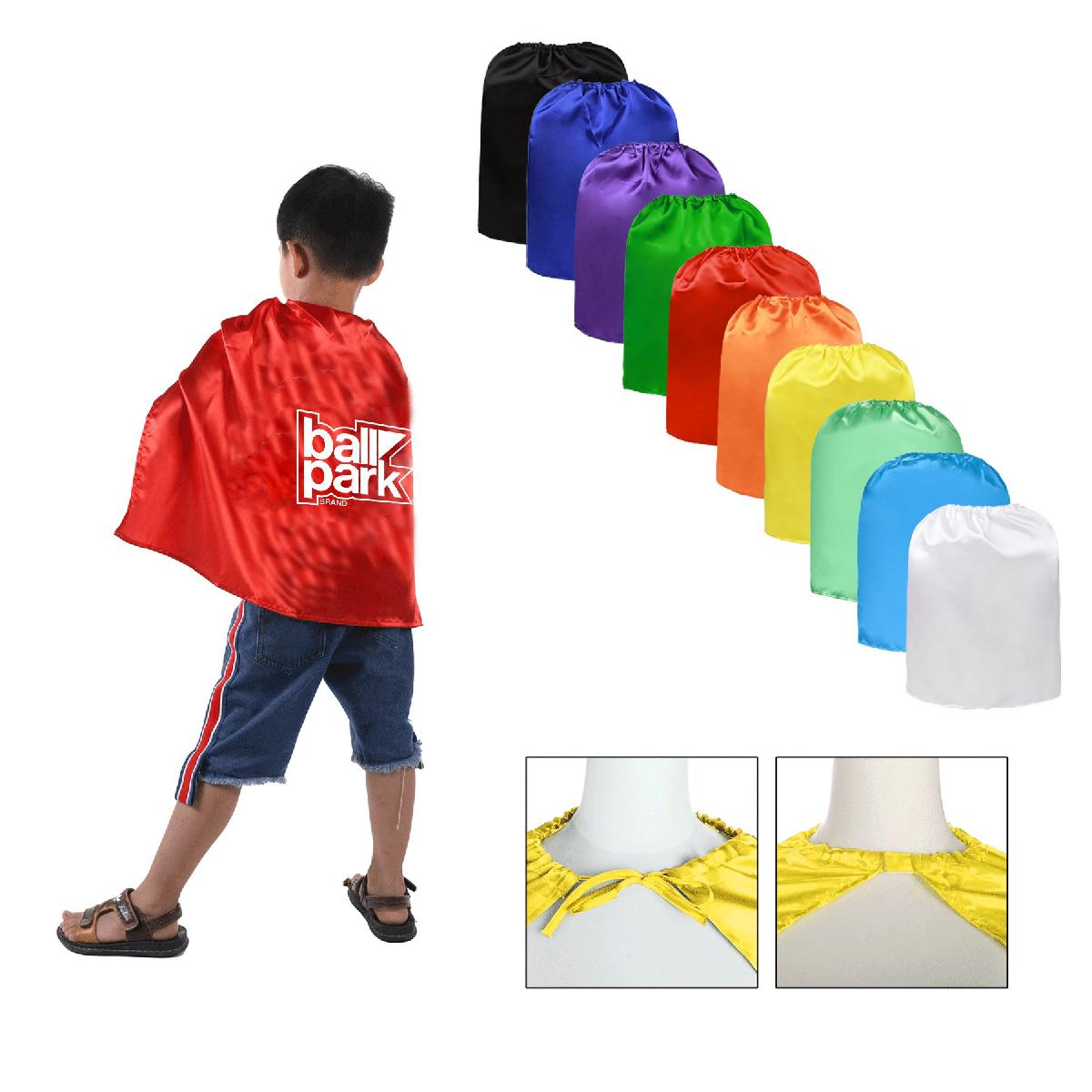 Youth Satin Superhero Cape