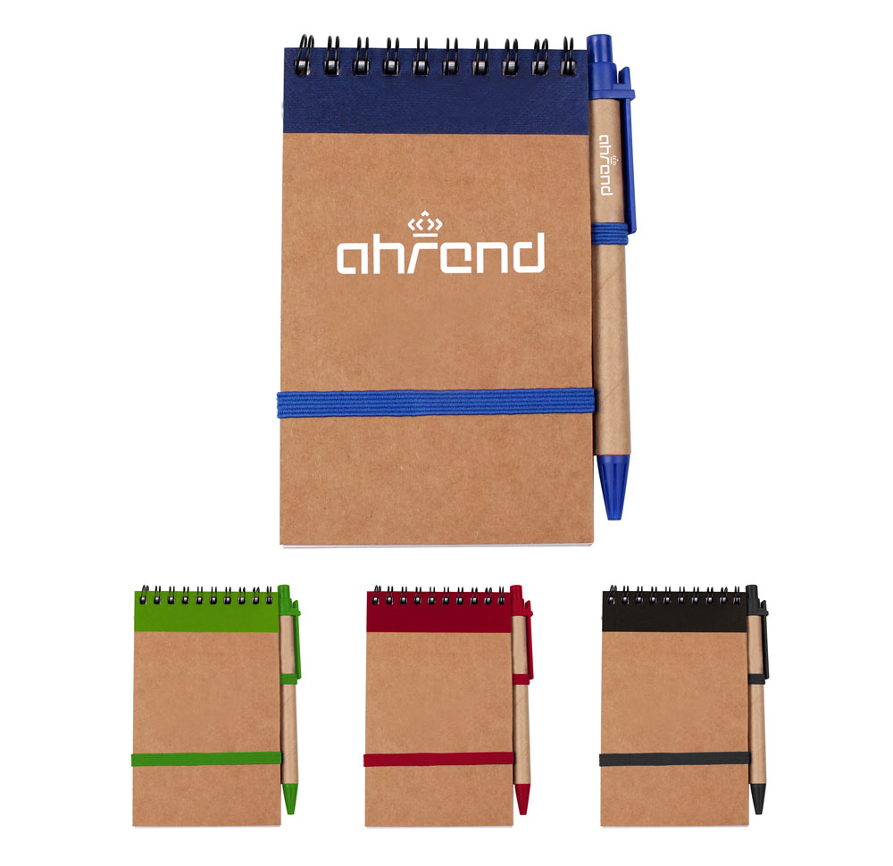 Eco Jotter Recycled Notebook with Pen