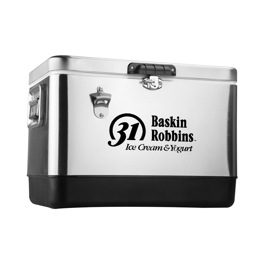 30 Quart Metal Retro Cooler