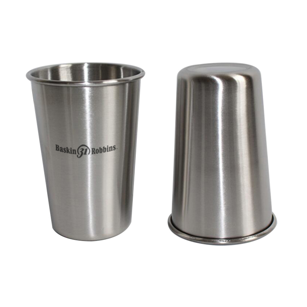 16 OZ Stainless Steel Pint Cup Tumbler