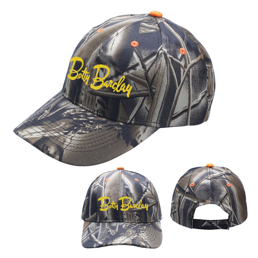 6 Panel Constructed Camo Baseball Caps