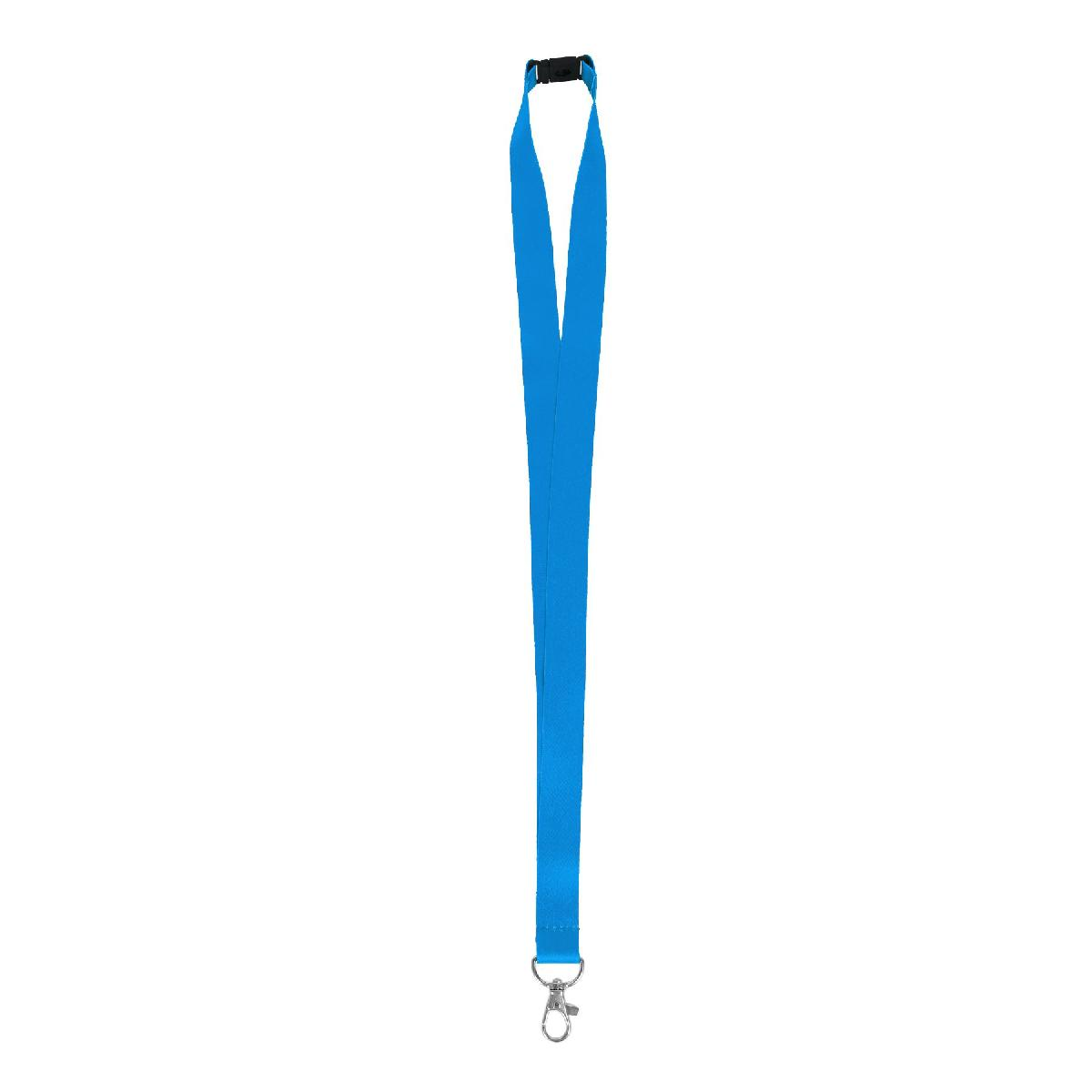"3/4"" Full Color Polyester Lanyard with Safety Breakaway"