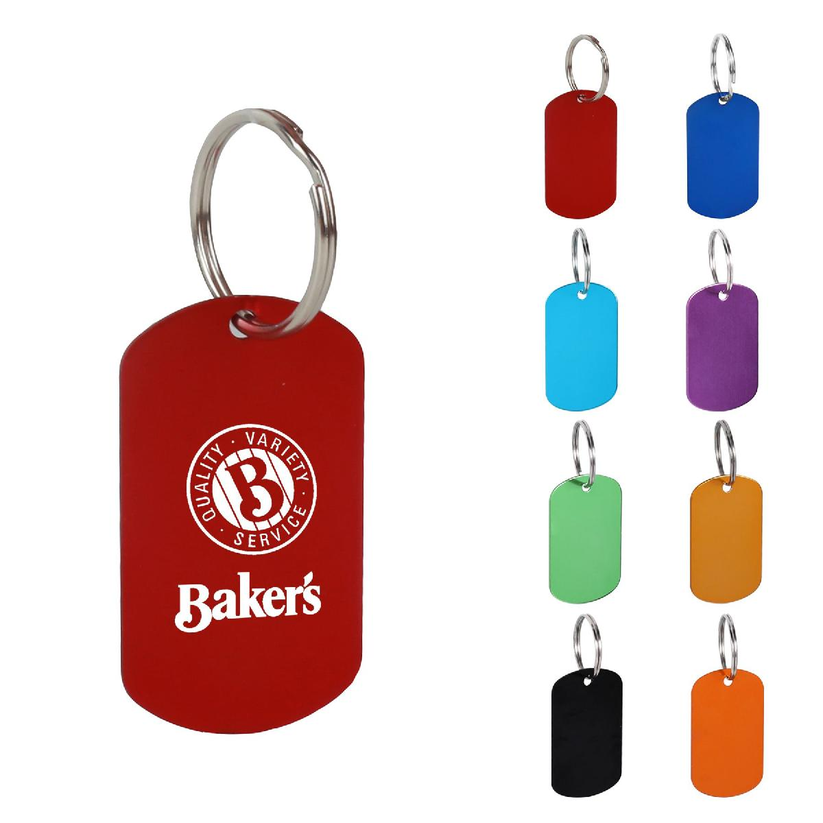 Aluminum Key Holder & Dog Tag