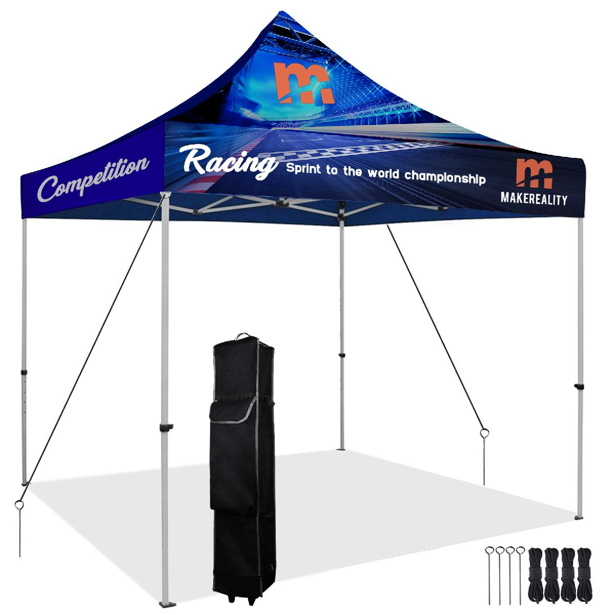 10' x 10' Pop Up Tent Kit (Full-Bleed Dye Sublimation)