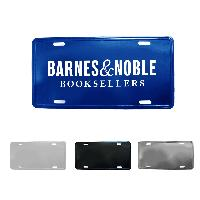 Custom Aluminum License Plate - Custom Aluminum License Plate
