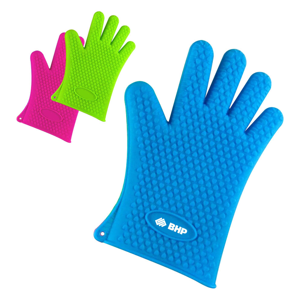 Heat Resistant BBQ Cooking Silicone Oven Glove Mitt - Heat Resistant BBQ Cooking Silicone Oven Glove Mitt