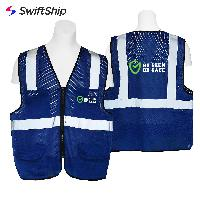 High Visibility Safety Vest Reflective