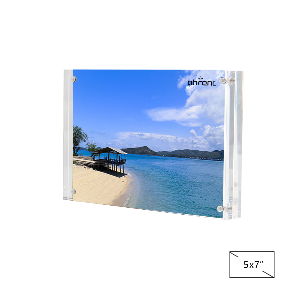 Acrylic Thick Desktop Frames (5x7 inches) - Acrylic Thick Desktop Frames (5x7 inches)