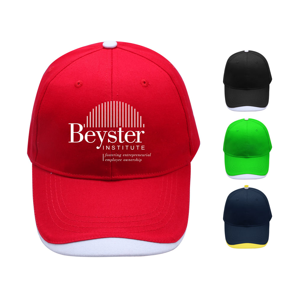 6 Panel Cotton Promotional Customized Baseball Cap - 6 Panel Cotton Promotional Customized Baseball Cap