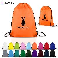 Classic Polyester Drawstring Sports Backpack - Classic Polyester Drawstring Sports Backpack