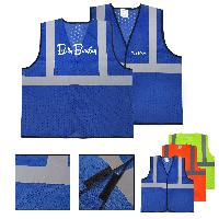 Adult Reflective Mesh Safety Vest - Adult Reflective Mesh Safety Vest