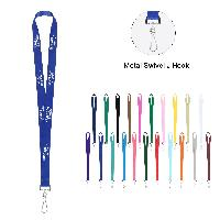 "3/4"" Custom Polyester Multi-Color Dye-Sublimation Lanyard - 3/4"" Custom Polyester Multi-Color Dye-Sublimation Lanyard"