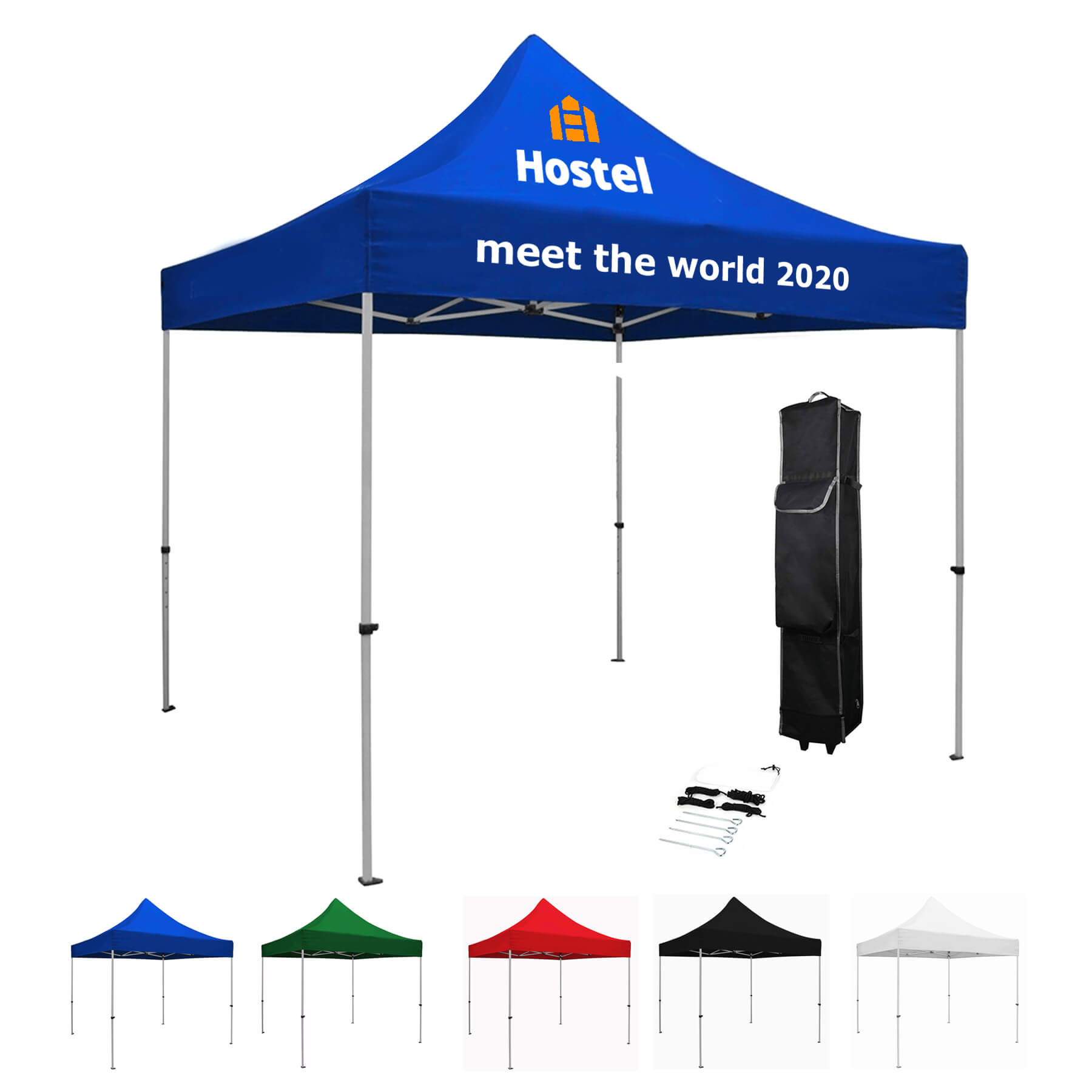 10' x 10' Pop Up Tent / Steel Frame - 10' x 10' Pop Up Tent / Steel Frame