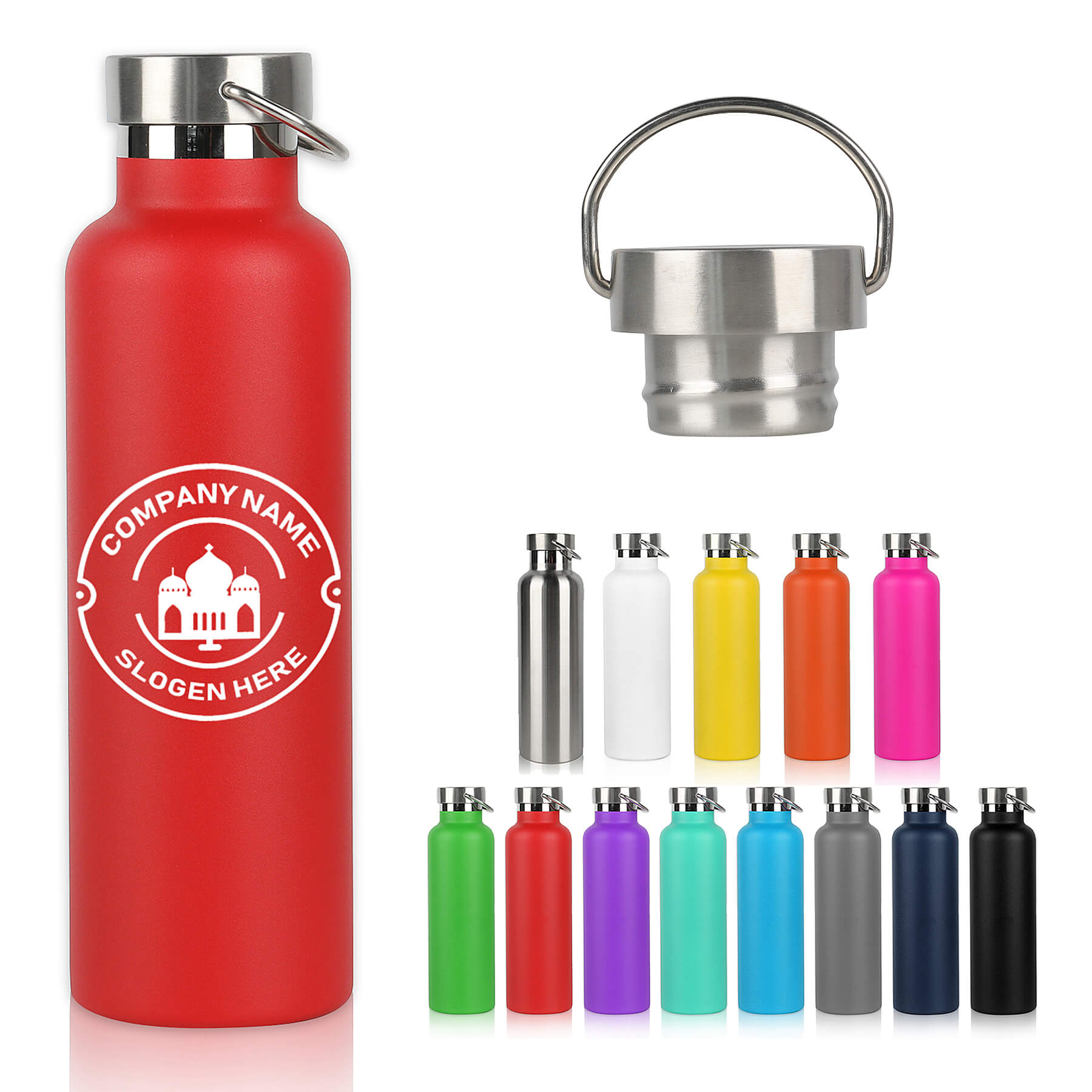 25 Oz Vacuum Sealed Double Wall Insulated Stainless Steel Water Bottle - 25 Oz Vacuum Sealed Double Wall Insulated Stainless Steel Water Bottle