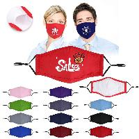 4 Ply Cotton Face Mask With Filter Pocket And Nose Clip - 4 Ply Cotton Face Mask With Filter Pocket And Nose Clip