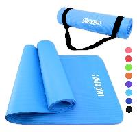 NBR Yoga Mat And Carrying Strap - NBR Yoga Mat And Carrying Strap