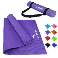 PVC Yoga Mat And Carrying Strap - PVC Yoga Mat And Carrying Strap