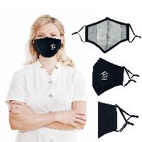 3 Ply Reusable Adjustable Cotton Face Mask - 3 Ply Reusable Adjustable Cotton Face Mask