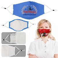 4 Ply Face Mask With Filter Pocket And Nose Clip - 4 Ply Face Mask With Filter Pocket And Nose Clip